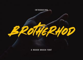 Brotherhod Brush Font