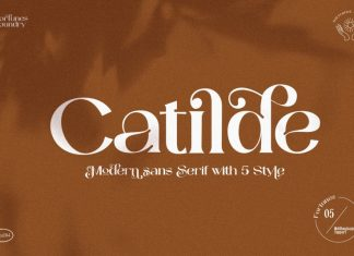 Catilde Serif Font
