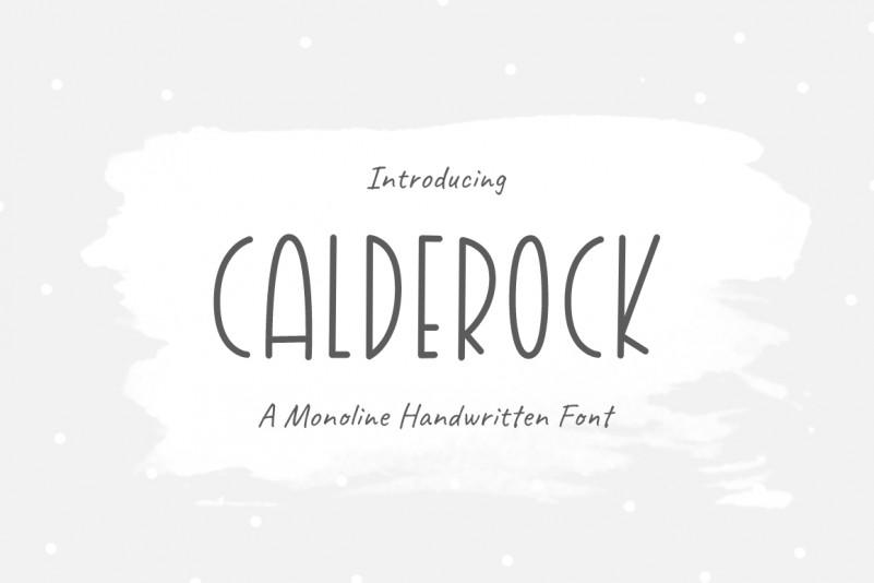 Calderock Font