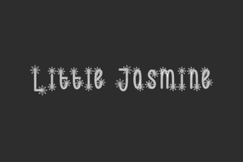 Little Jasmine Font