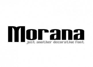 Morana Sans Serif Font