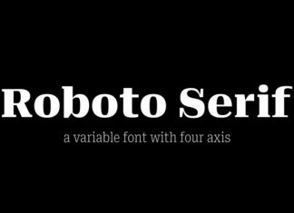 Roboto Serif Font