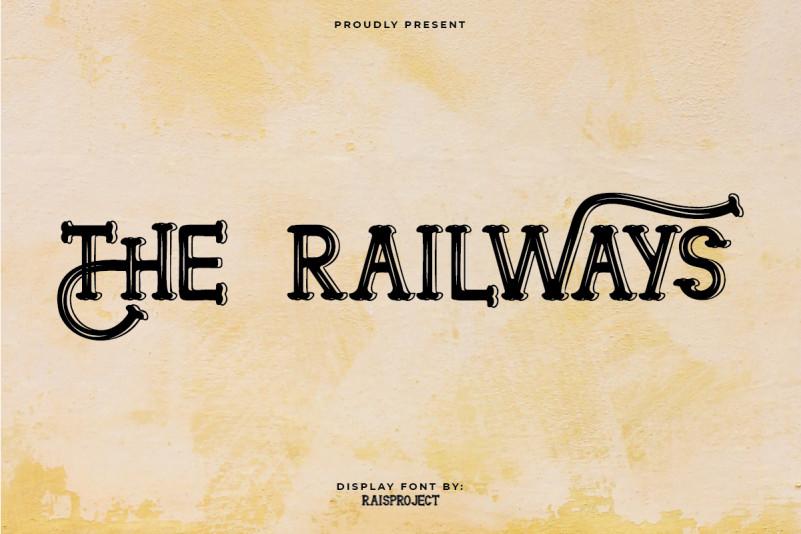 The Railways Font