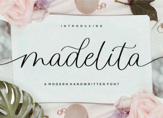 Madelita Handwritten Font