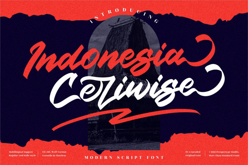 Indonesia Ceriwise Font