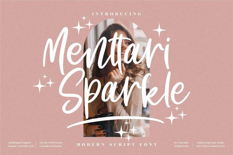 Menttari Sparkle Font