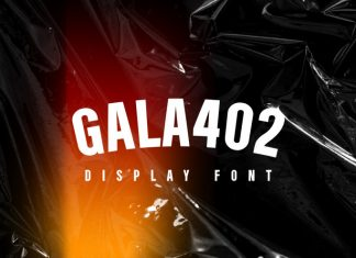 Gala402 Sans Serif Font