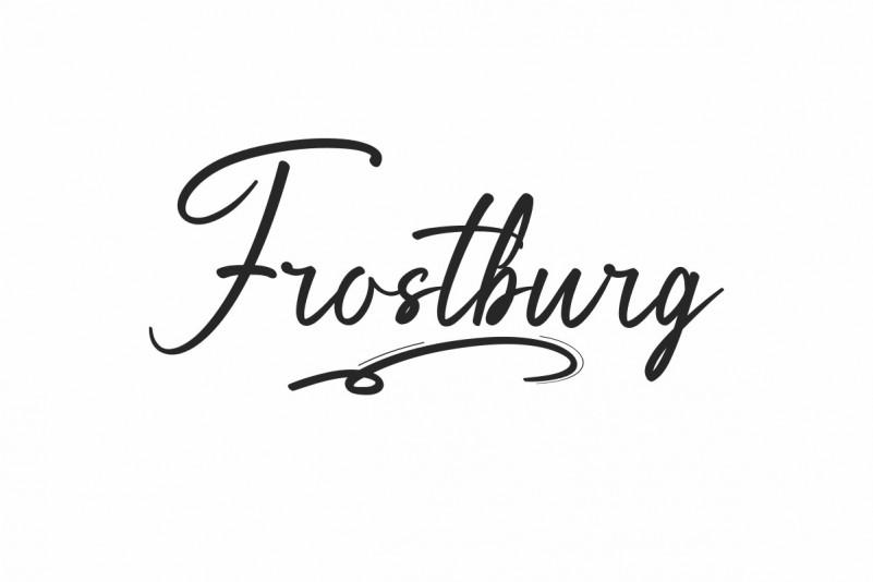 Frostburg Font