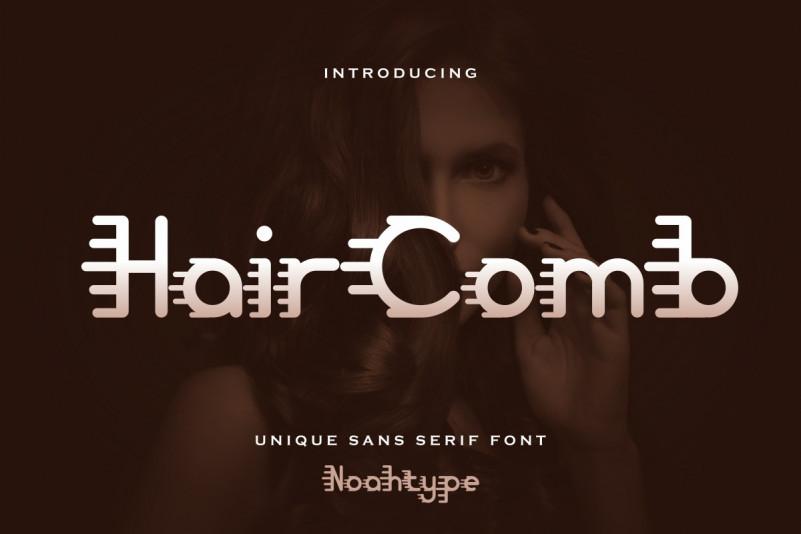 Hair Comb Font