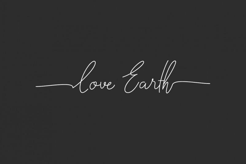Love Earth Font