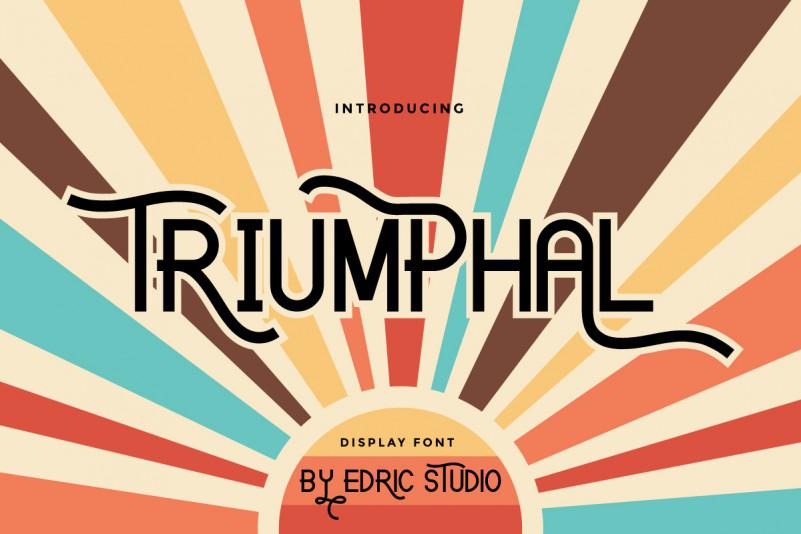 Triumphal Font