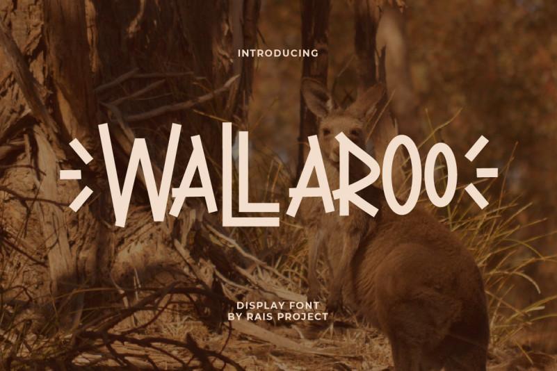 Wallaroo Font