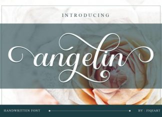 Angelin Calligraphy Font