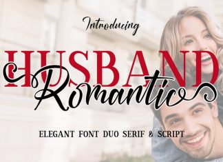 Husband Font Duo