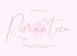 Romantica Handwritten Font