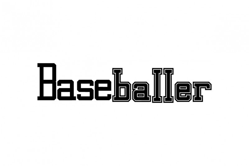 Baseballer Font