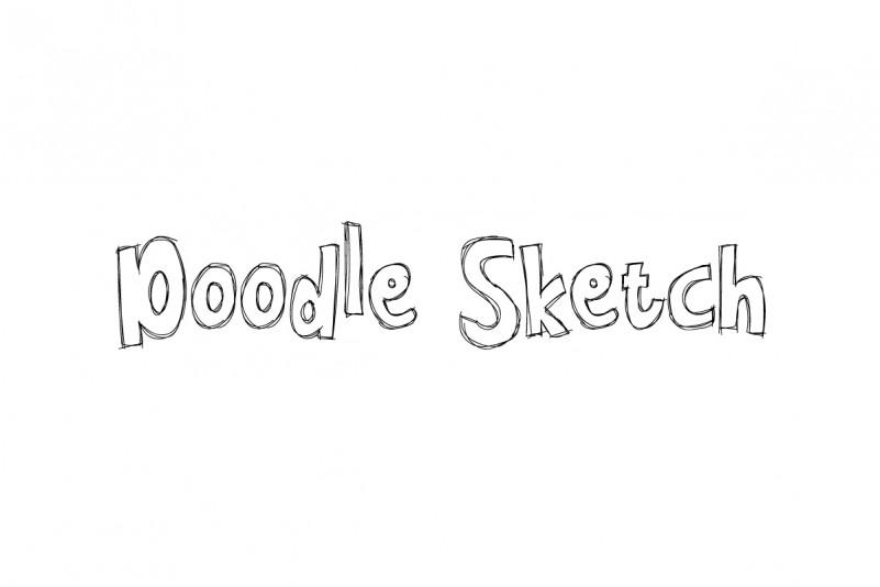 Doodle Sketch Font