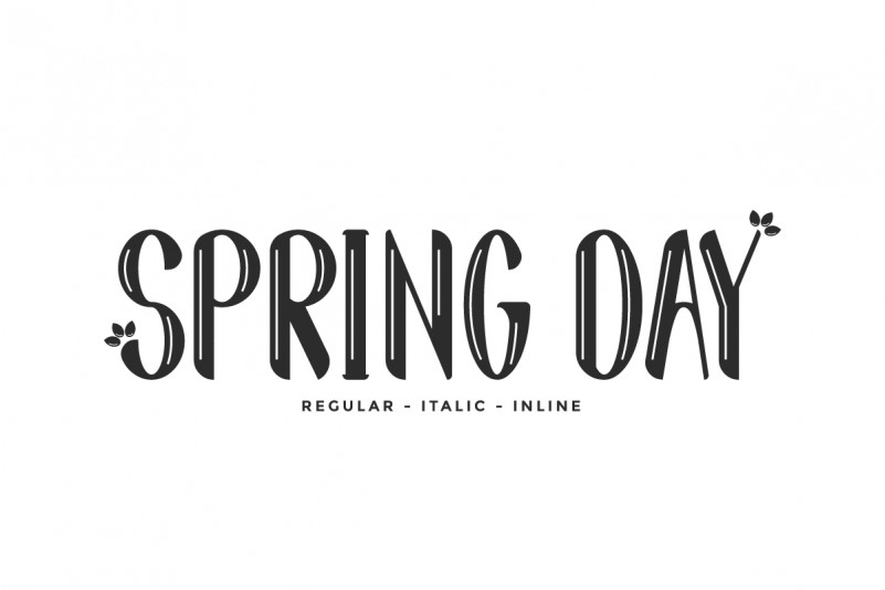 Spring Day Font