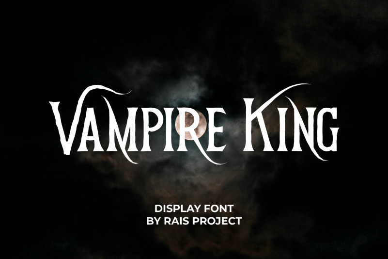 Vampire King Font
