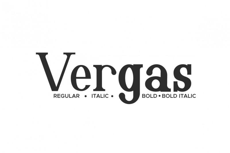 Vergas Font