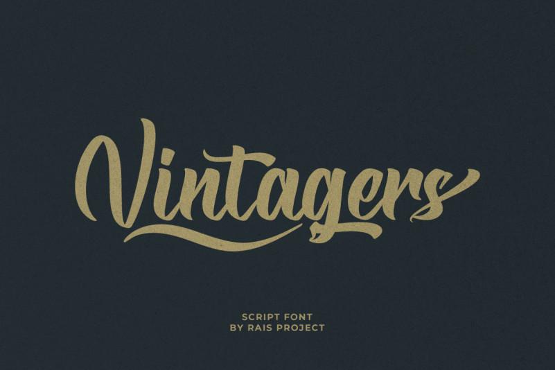Vintagers Font