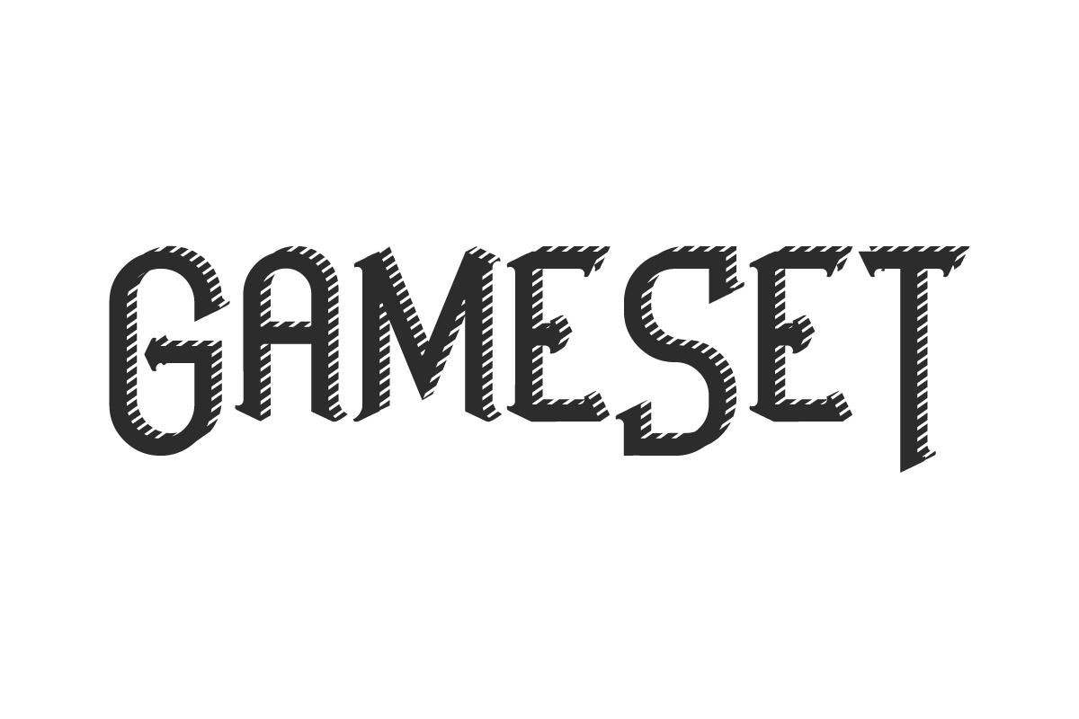GameSet Font