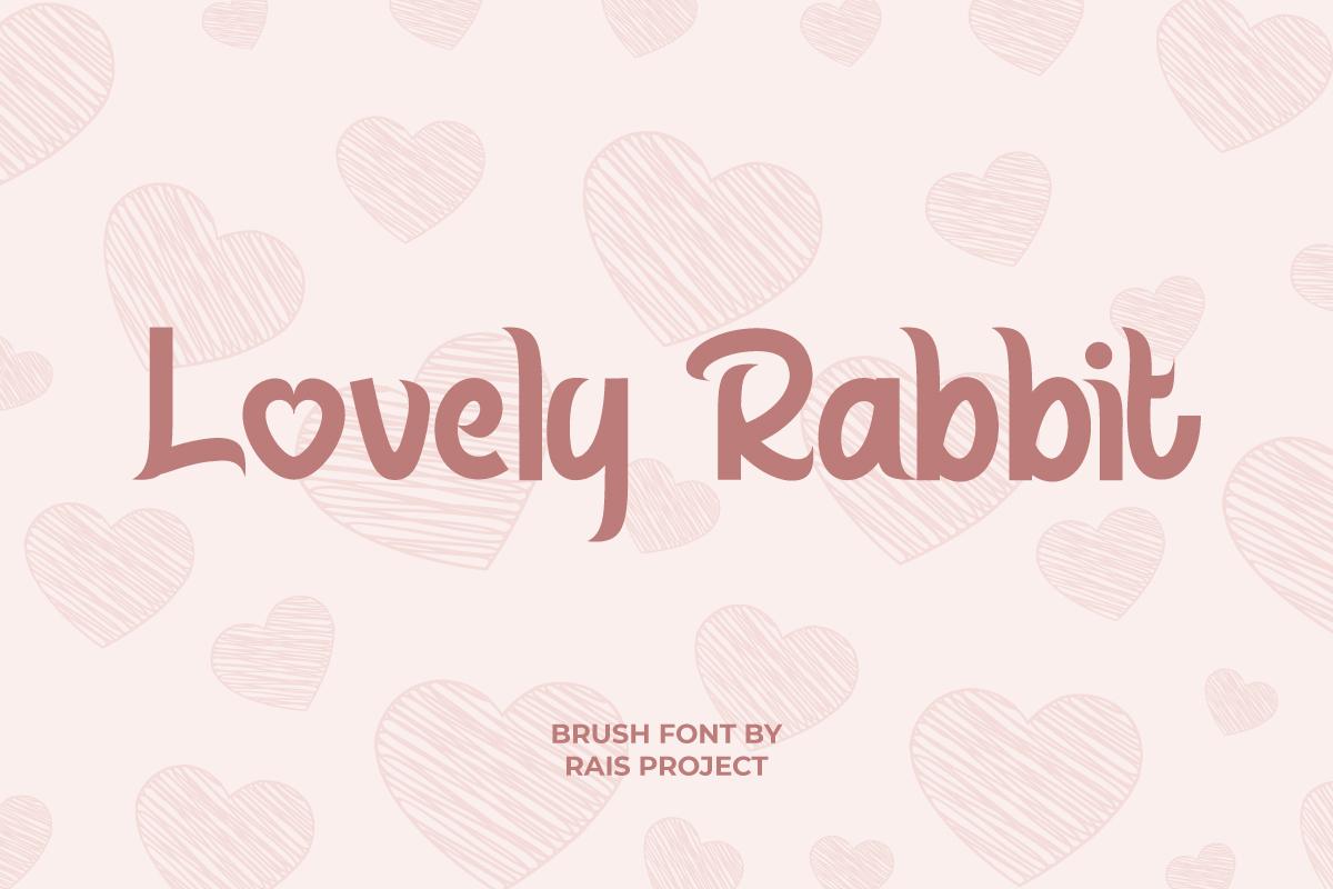 Lovely Rabbit Font