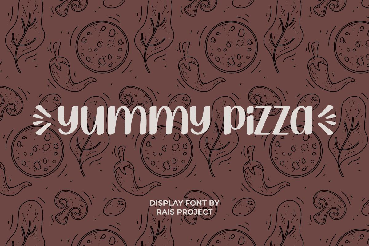 Yummy Pizza Font
