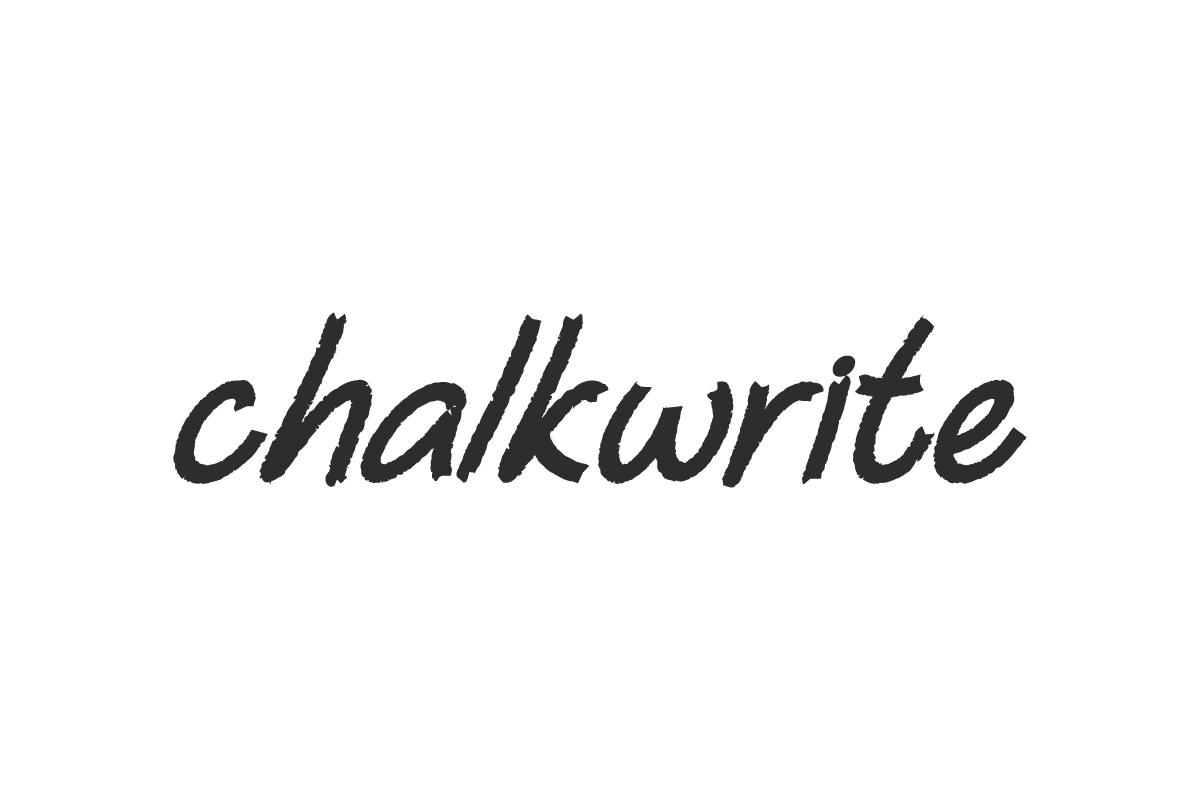 Chalkwrite Font